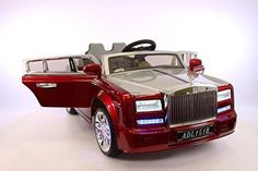 2016 Luxurious Limited Edition Ride on Toy Rolls Royce Style 12v battery.Remote control. Leather seat.Electric car.