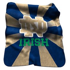 Check out our entire selection of NCAA gear, including this Logo Brand Notre Dame Fighting Irish Raschel Throw Blanket, at Kohl's. Go Irish, Notre Dame Football, Fighting Irish, Faux Fur Throw, Kentucky Wildcats, Drink Sleeves, Team Logo, 4 Life, Man Cave