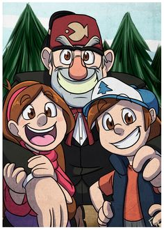 gravity_falls_by_forte_girl7-d6hq62u.png (1024×1434)