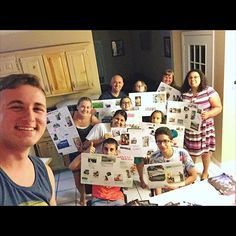 @liam.thomas1998 shares with us: Had a fun family worship night. We all made spiritual goal boards. We took pictures from our Watchtower and Awake magazines and used those for a pic collage then we all gave presentations on what goals we want to accomplish. by jw_witnesses