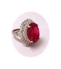 Vintage Pink Sapphire Estate Jewelry Ring by WOWTHATSBEAUTIFUL