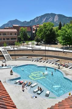 The Recreation Center At University Of Colorado Boulder