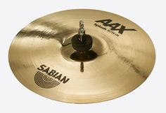 """Sabian 10 Inch AAX Splash Cymbal Brilliant Finish by Sabian. $119.00. Extremely fast and very bright, the SABIAN 10"""" AAX Splash provides plenty of penetrating cut. The SABIAN AAX series delivers consistently bright, crisp, clear and cutting responses – AAX is the ultimate Modern Bright sound!"""
