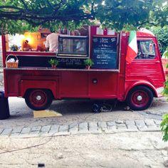 Extrême street food - Bistrot Mobile - Citroën HY - Vintage