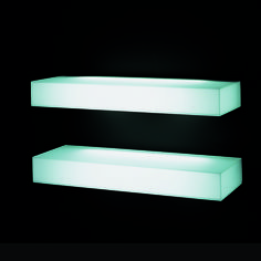 Light-Light Shelves | Nanda Vigo | Glas Italia | SUITE NY