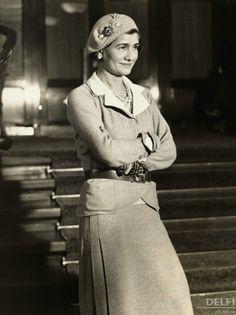 Coco Chanel, 1931 © Underwood & Underwood/Underwood & Underwood/Corbis