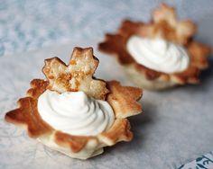 Tartelettes à la mousse au sirop d'érable et pâte à biscuit au sirop d'érable…