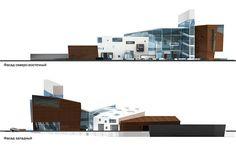 Торговый центр «Элегия». Фасады