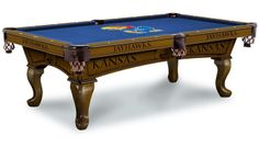 Use this Exclusive coupon code: PINFIVE to receive an additional 5% off the University of Kansas Jayhawks Pool Table at sportsfansplus.com