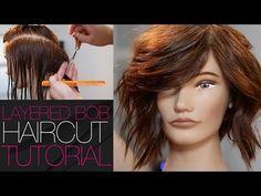 How To Cut A LOB Haircut With A Razor In Under 10 Min - Step by Step Medium Length Haircut - YouTube