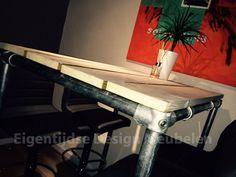 Steigerbuis Hoge Eettafel - Eigentijdse Design Meubelen
