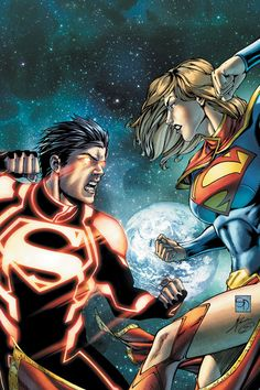 #Superboy vs. #Supergirl