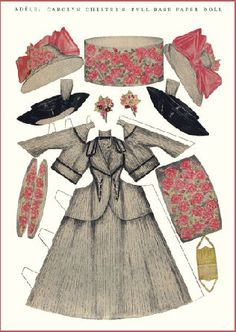 (⑅ ॣ•͈ᴗ•͈ ॣ)♡                                                             ✄Miss Missy Paper Dolls: paper doll - outfit