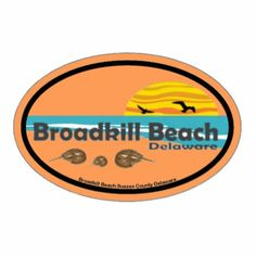 Broadkill Beach Delaware. Cut Out