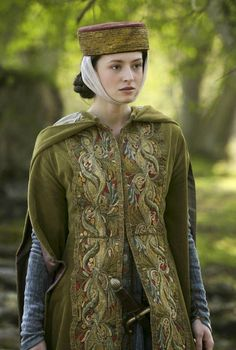 Medieval costume (travelling/ riding) from movie