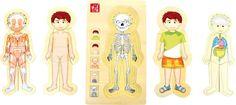 Puzzle Anatomia chłopiec
