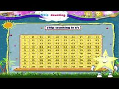 In this video you get to Learn Grade 1 - Maths - Skip Counting Learning Multiplication Tables, Maths, 1st Grade Math, Grade 1, Homeschool Math, Homeschooling, How To Teach Kids, Learn To Count, Skip Counting