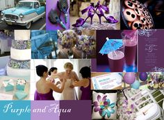 Purple tropical wedding theme | because it is so visually stunning. It truly reminds me of a tropical ...