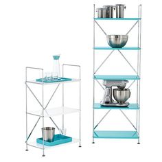 Our Barcelona Shelving solutions create beautiful pops of color with modern design.