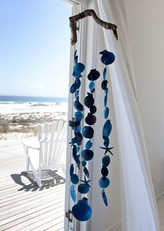 shell wind chime...