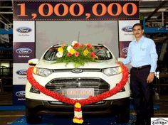 1 Millionth Ecosport recently rolled out by Ford in India | Car Crox