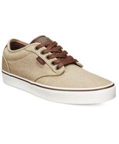 VANS Vans Men S Atwood Deluxe Sneakers.  vans  shoes   all men Khaki Vans 10ee20e468