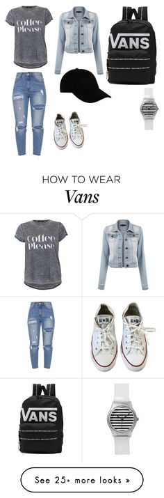 """Coffee Date ☕️☕️☕️"" by mikeehildebrand on Polyvore featuring Converse, Vans, STONE ISLAND and CoffeeDate"
