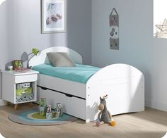 Mitwachsendes Kinderbett Spoom weiß- monpetit kinderzimmer