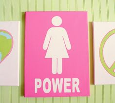 girl power! We say this in our house every day :)