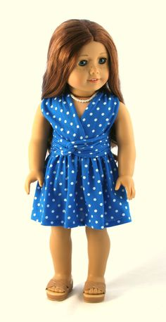18 Doll Clothes fits American Girl  Infinity Dress by Forever18Inches.