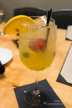 Summer White Sangria from NIXS Hartford in Hartford, CT