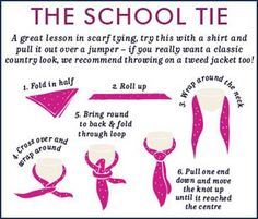 Joules Scarf Tying Guide