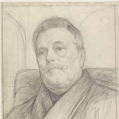 Portret van een heer, Jan Veth, 1874 - 1925 - Rijksmuseum