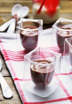 Receta 1036: Crema de chocolate » 1080 Fotos de cocina