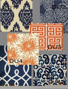 http://www.etsy.com/listing/128234569/custom-orange-and-navy-drapes-50-inch-x