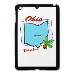 Ohio Mini iPad Case sold exclusively at PersonalizedSouvenirs.com.