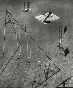 PLAYGROUND PROJECT: Isamu Noguchi: Playground equipment for Ala Moana: Park, Honolulu, Hawaii, 1940