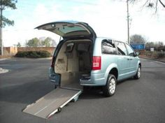 Should I Convert My Minivan For Rear Entry Accessibility? Click through to learn more from AMS Vans.