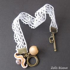 Bracelet tissu Bigoudène (marron)