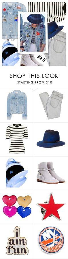 """""""PIN IT!"""" by shoaleh-nia ❤ liked on Polyvore featuring rag & bone, Current/Elliott, Theory, Versace, Valentino, agnès b. and ban.do"""