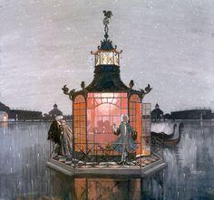 Alexandre Benois : Pavillon chinois - Jaloux, 1906...