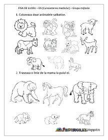 Animal Worksheets, Preschool Worksheets, Pre School, Games For Kids, Kids And Parenting, Kindergarten, Classroom, Comics, Learning