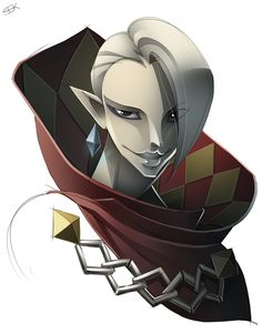Ghirahim by WhiteFoxCub.deviantart.com on @DeviantArt