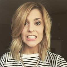 Grace Helbig's new hair is so nice.