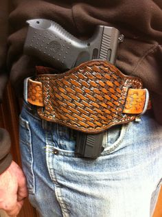 Leather Gun Holster by RetiredCowboy on Etsy