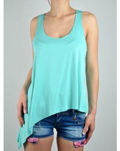 Γυναικεία Ρουχα End Of Season Sale, Basic Tank Top, Tank Tops, Dogs, Clothes, Fashion, Outfits, Moda, Halter Tops