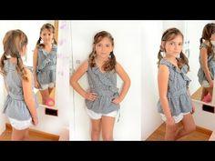 Blusa cruzada: Revista de patrones infantiles nº 4. - Patronesmujer: Blog de costura, patrones y telas.