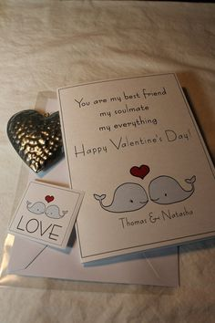 CUSTOM  personalized Valentine Card  Your by aphroditescanvas