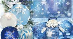 Rojo, azul y plata en esta Navidad | Ideas para Decoracion