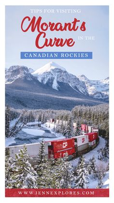 Morant's Curve - Tips for Visiting and Photographing this Famous Canadian Rockies Viewpoint – jenn explores - travel, landscape and lifestyle photographer Canadian Pacific Railway, Canadian Rockies, Canadian Food, Vancouver, Toronto, Quebec, Ottawa, Banff National Park, National Parks